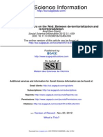 Ben-David-The Palestinian Diaspora on the Web, 2012