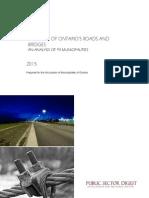 AMO Roads and Bridges Study March 2015