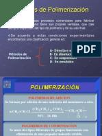 Tecnología de plásticos.Métodos de polimerización