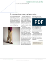 2011 Neuroplasticity, Functional Recovery After Stroke