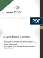 Capítulo 7 Coste de Producción