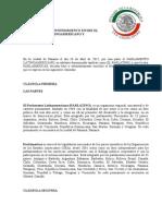 Memorando de Entendimiento Entre El Parlamento Latinoamericano y Parlamericas