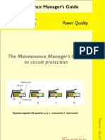 The maintenance manager's guide to circuit protection