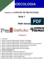 Aula 1. Bases de Agroecologia