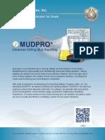 MUDPRO+   Advanced Drilling Mud Reporting Software