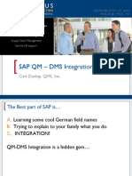 SAP QM DMS Integration