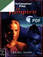 Christopher Pike - La Vampire -2- Sang Noir
