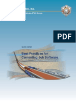 Best Practices for Cementing Job Software