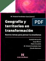 geografía y territorios en transformación.