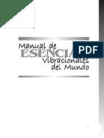 Manual de Esencias Vibracionales Del Mundo