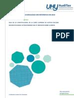 Inconstitucionalidad 1% ISR - Tax Boletín Auditax Abril 2015