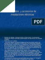 Materiales y Accesorios de Instalaciones Eléctricas
