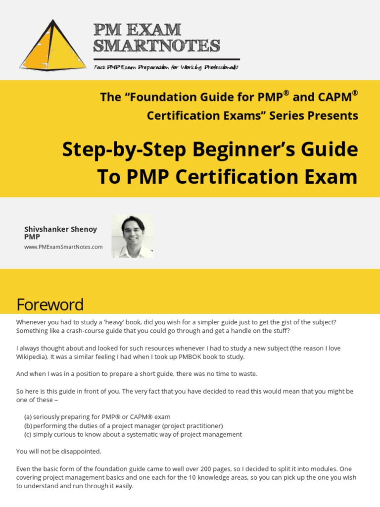 Beginners guide to pmp certification exam project management beginners guide to pmp certification exam project management professional test assessment 1betcityfo Gallery