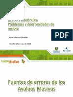 Metodologia de Valoracion Catastral (Rafael Villareal)