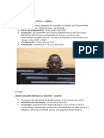 Casos Práticos Do Tribunal Penal Internacional