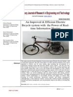 Electric bicycle system