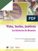 Vida Lucha Justicia en La Historia de Beatriz