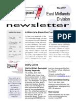 CDG East Midlands newsletter May 2007