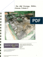 Excavations at The Old Vicarage, Mellor. 2006 Season. Volume I.