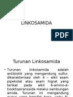Kimia Medisinal-LINKOSAMIDA
