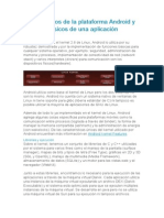 Fundamentos de La Plataforma Android y Bloques Básicos de Una Aplicación