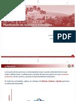 Planeacion de Actividades y recursos