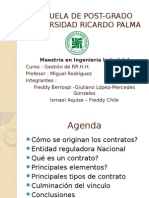 Tipos de Contratos - Peru