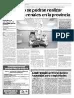 Trasplantes renales en San Luis