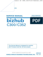 BizHub+C300,+C352+Field+Service+Manual+-+Firmware+G4