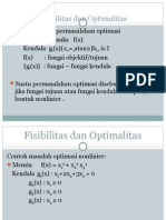 Fisibilitas Dan Optimalitas
