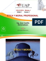 etica y moral profesional