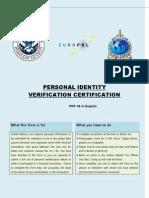 International Identity Form