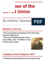 collapse of the soviet union-timeline