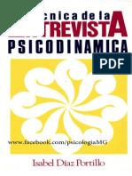 TecnicaS -Entrevista-Psicodinamica