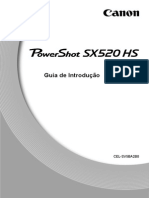 PowerShot SX520 HS Getting Started Guide PT