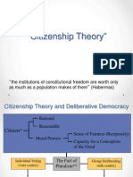Citizenship Theory
