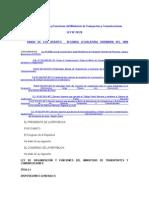 02 Ley de Organización y Funciones Del Ministerio de Transportes y Comunicaciones
