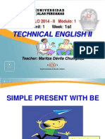 Ayuda 1.1. Simple Present With to Be