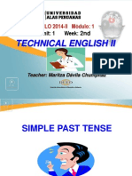 Ayuda 2.2. Simple Past Tense