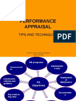 Performing at Performance Appraisals