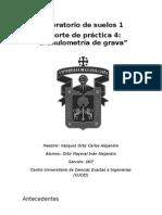 Practica 4.- Granulometria Grava