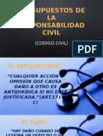 Presupuestos de La Responsabilidad Civil