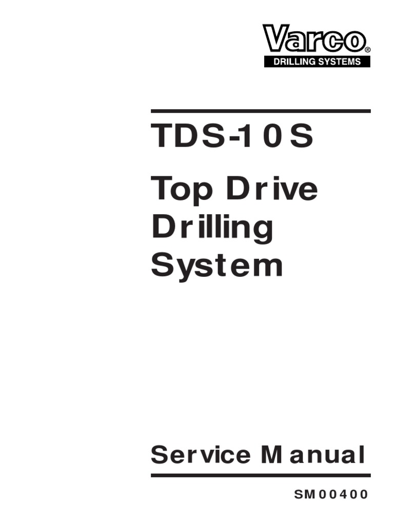 tds 10s service manual power inverter manual transmission rh scribd com TDS 3 Instruction TDS Meter