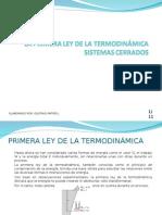 Clase No13-Primera Ley de La Termodinámica-Sistemas Cerrados