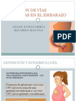 Infección de Vías Urinarias en El Embarazo (1)