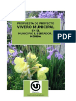 Proyecto de Vivero municipal