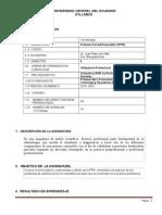 Sílabus PPR I 2015-2015