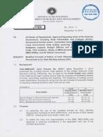Circular Letter No. 2014 - 11