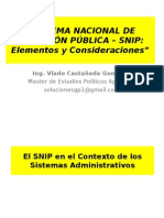 Exposic General SNIP