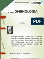 FENOMENOLOGIA - slides